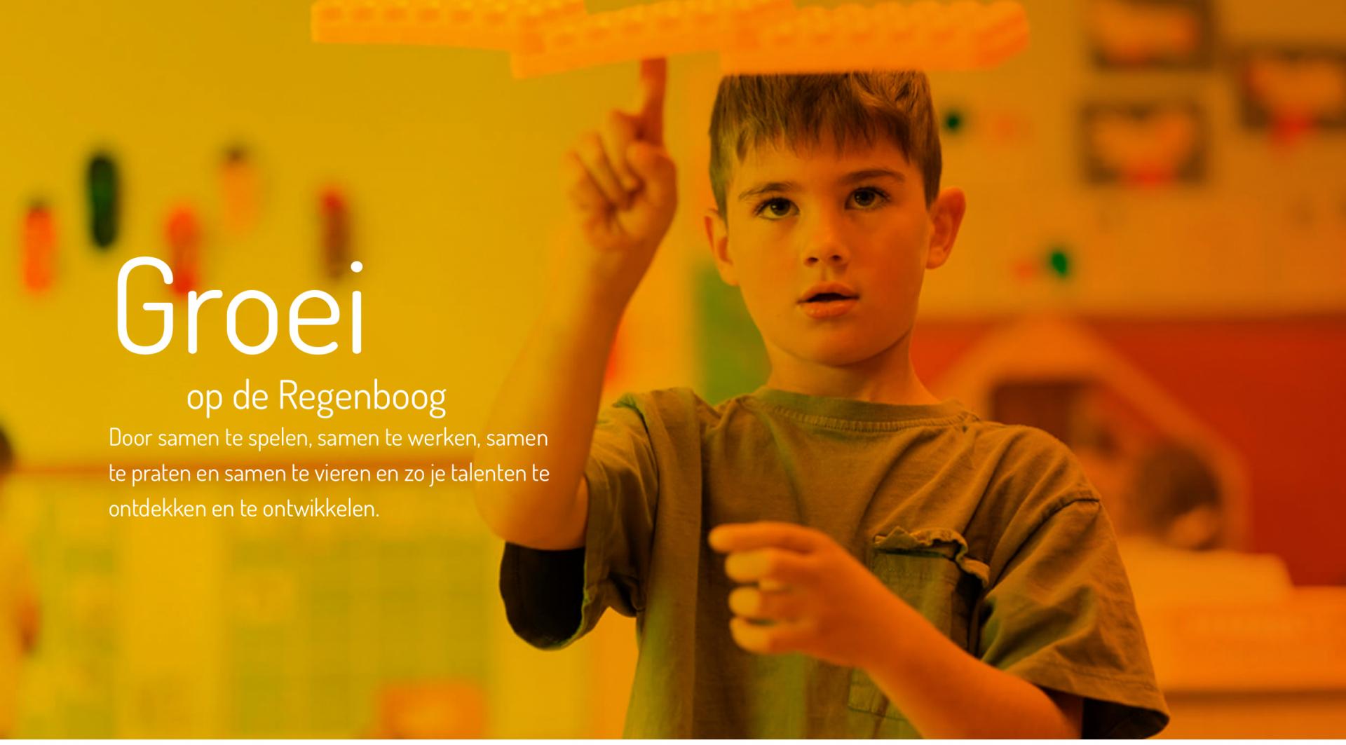 Nieuwe website voor de Regenboog